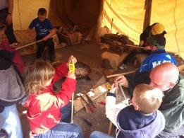 Bogenbau für Kinder 2